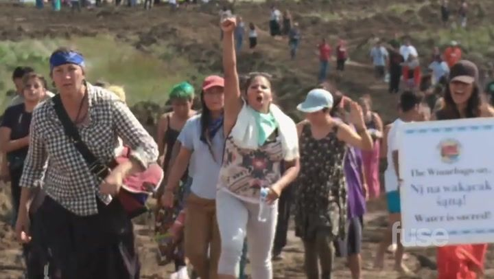 First Look: End of the Line - The Women of Standing Rock