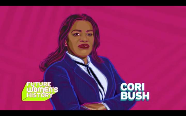 Future Women's History Honors Cori Bush!