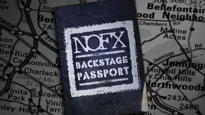 NOFX BACKSTAGE PASSPORT